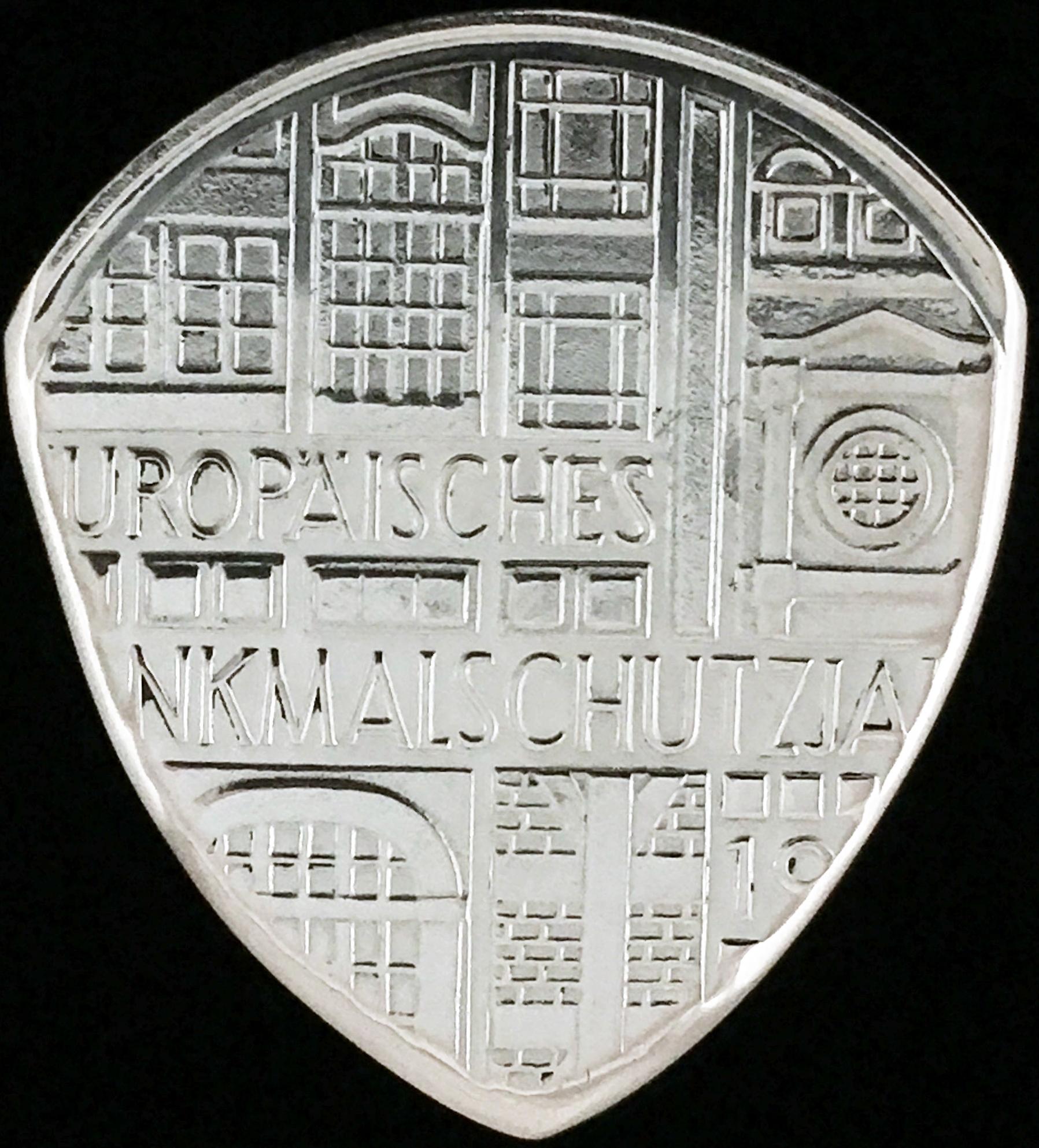 1975 german 5 deutsche mark 62 5 silver coin guitar pick. Black Bedroom Furniture Sets. Home Design Ideas