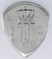 1976 Luxemborg 10 Francs 1