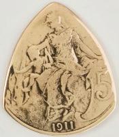1911 France 10 Centimes 1