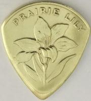 Shell Canada Saskatchewan Prarie Lily Token Mid 60's 1