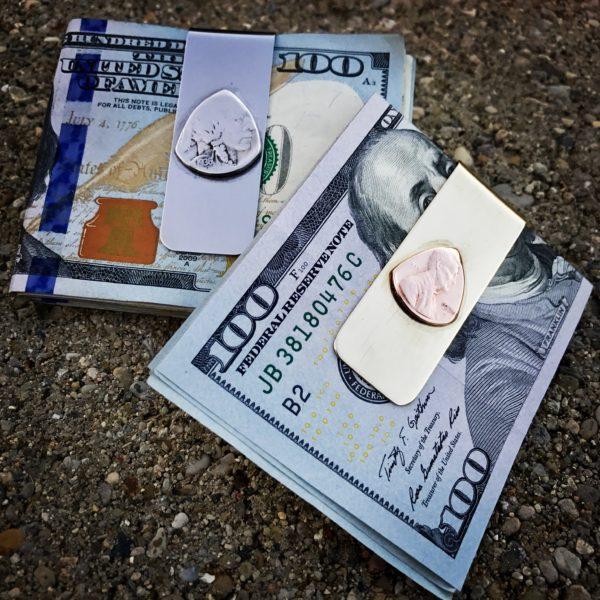 The Original Coin Guitar Picks Money Clip