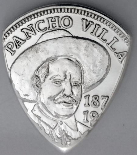Pancho Villa Mexico Silver
