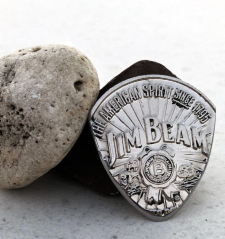 Jim Beam -Jacob Beam 1 Coin Guitar Pick, Coin Guitar Picks