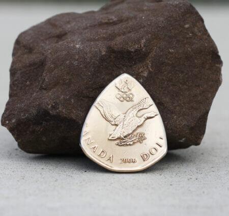 2006 Canada Olympic Lucky Loonie Canadian One Dollar $1