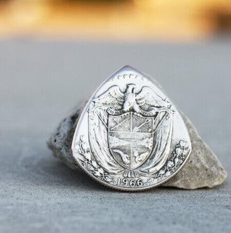 1966 Panama 40% Silver Medio Balboa