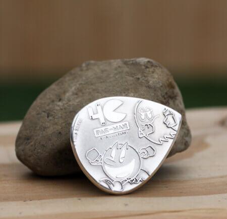 2020 NIUE PAC-MAN 40th Anniversary 99.9% Silver Coin Guitar Pick