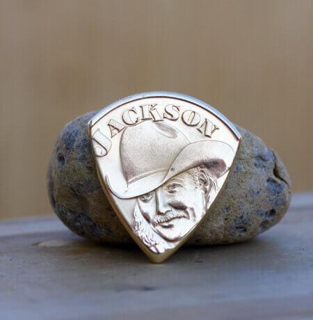 Alan Jackson 1997-98 Tour Coin Guitar Pick