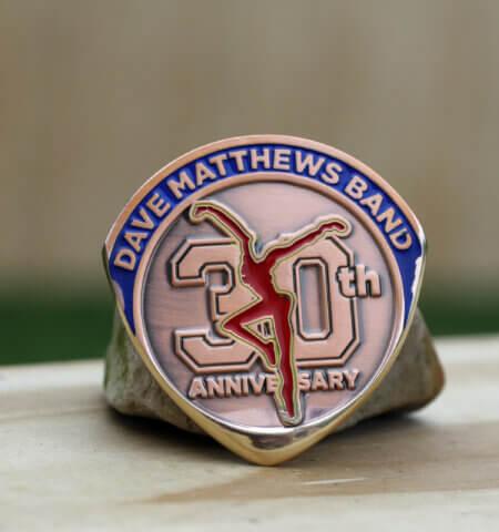 Dave Matthews 30th Anniversary The Gorge Amphitheatre Sunset Coin Guitar Picks