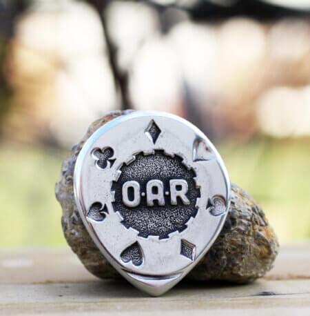 O.A.R. Poker Chip Coin Guitar Pick